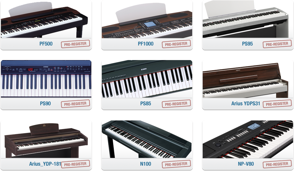 Link to learn music for Yamaha digital piano philippines